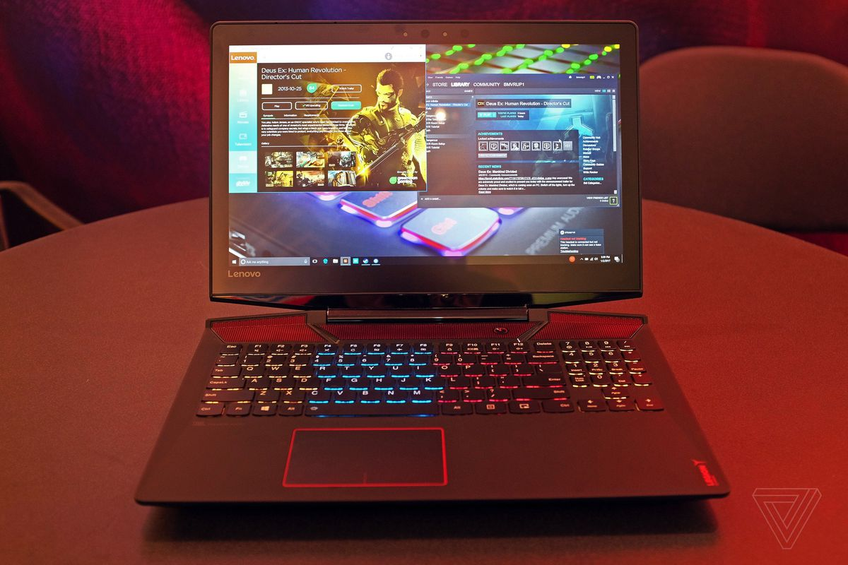 Lenovo launches Legion gaming brand with a couple of derivative laptops - The Verge