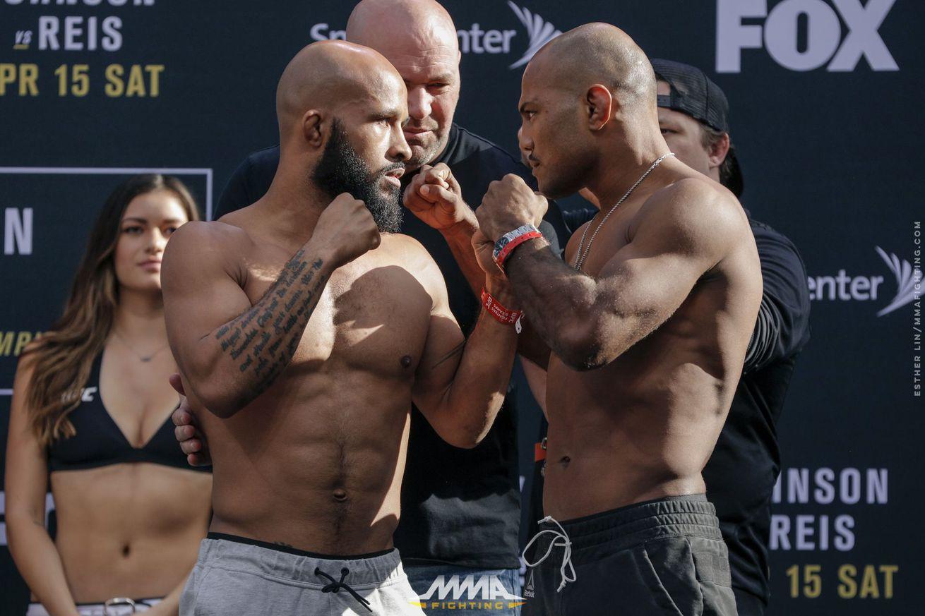 UFC on FOX 24 Results: Johnson vs. Reis