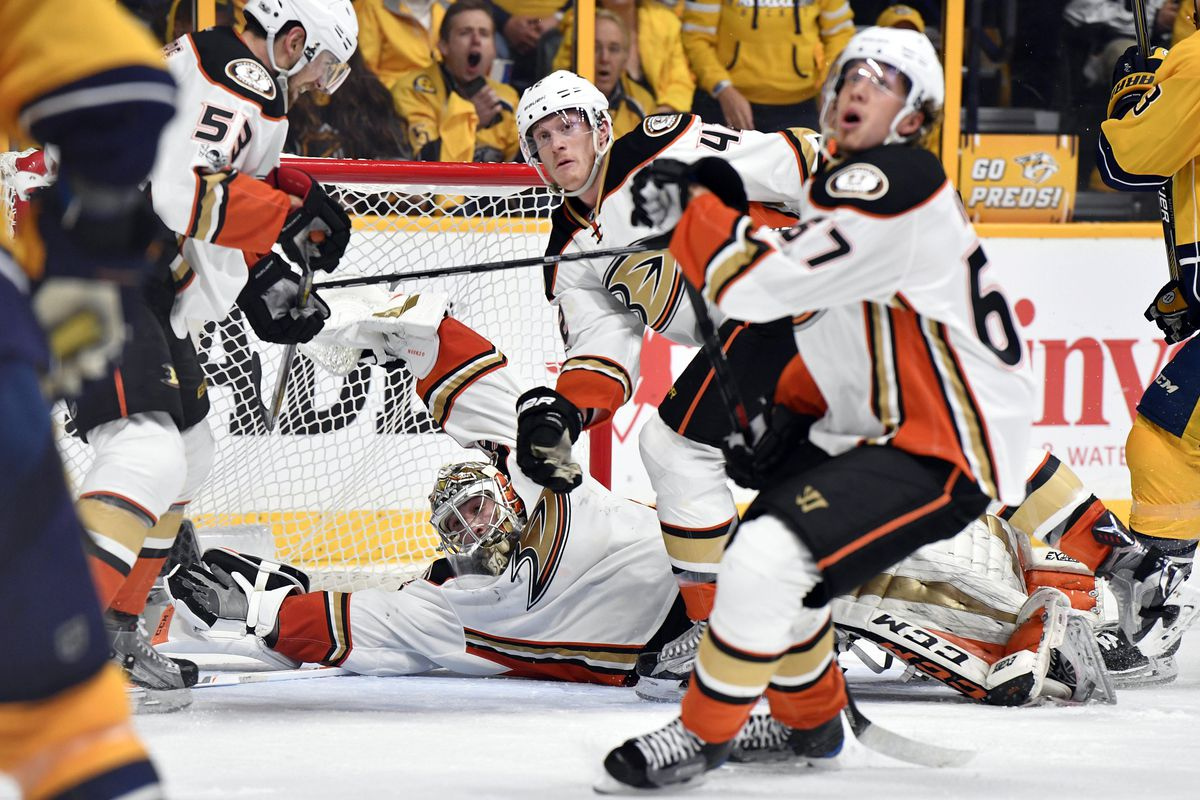 Ducks resting up for aggressive Preds down 2-1 in West