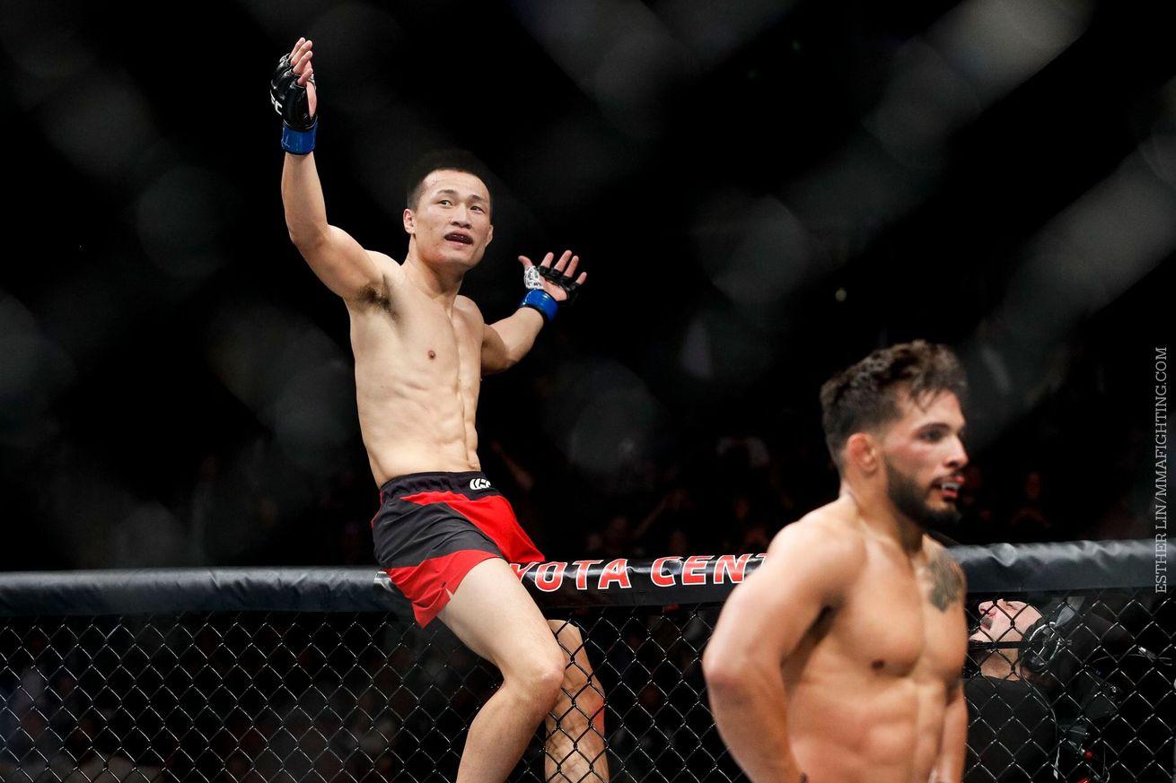 community news, UFC Fight Night 104 bonuses: 'Korean Zombie' earns $50,000 for KO of Dennis Bermudez