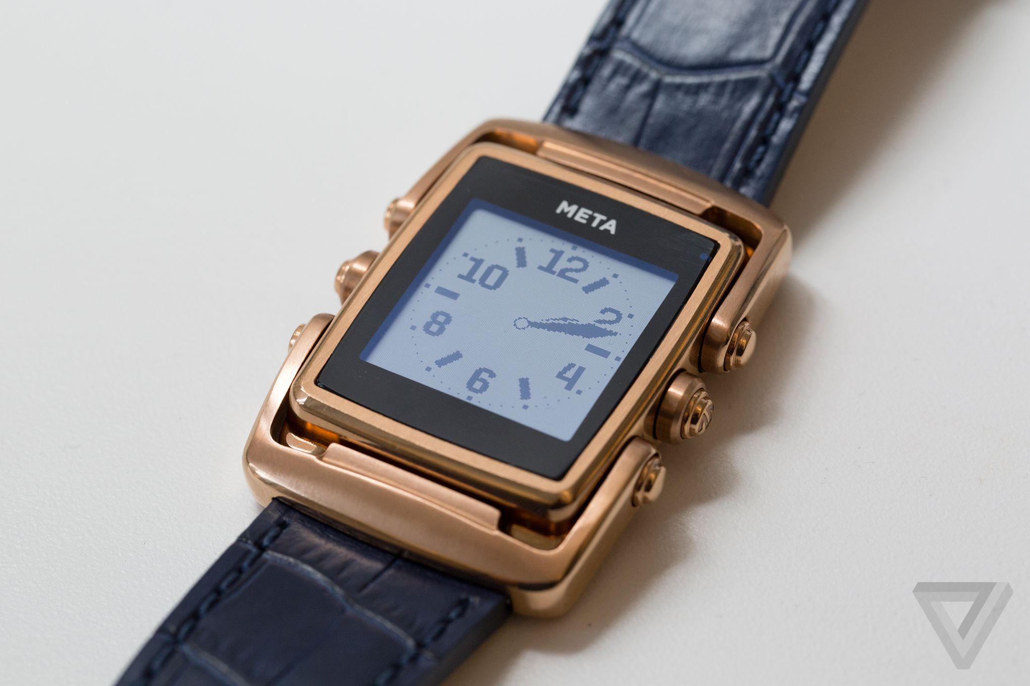 Meta Watch Meta M1 Review The Watchmaker S Smartwatch