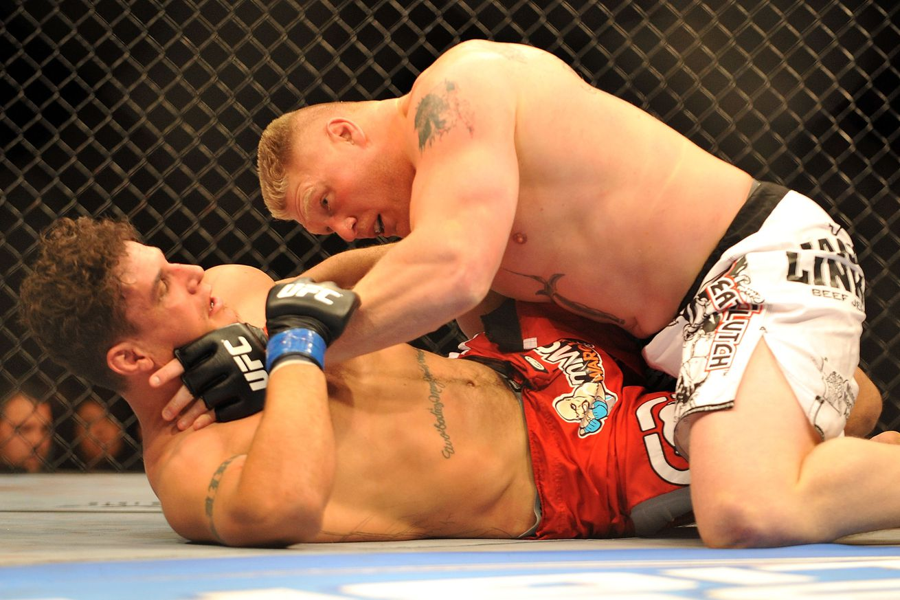 Frank Mir 'absolutely' interested in Brock Lesnar rubber match