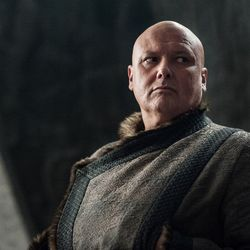 Lord Varys is helping Daenerys however he can.