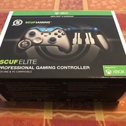 The Scuf Elite professional gaming controller can be customized when you order it.