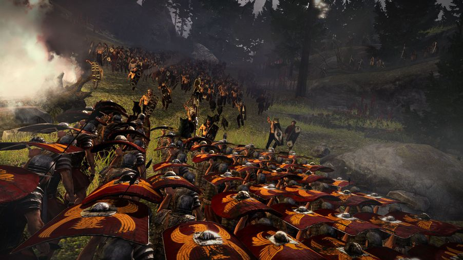 Total War Rome 2 S Battle Of Teutoburg Forest Puts