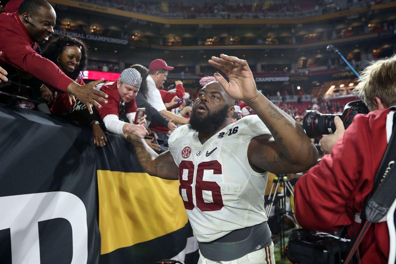 NFL Jerseys Official - 2016 NFL Mock Draft: Denver Broncos acquire A'Shawn Robinson ...