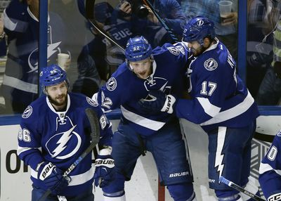 NHL: Stanley Cup Playoffs-Pittsburgh Penguins at Tampa Bay Lightning