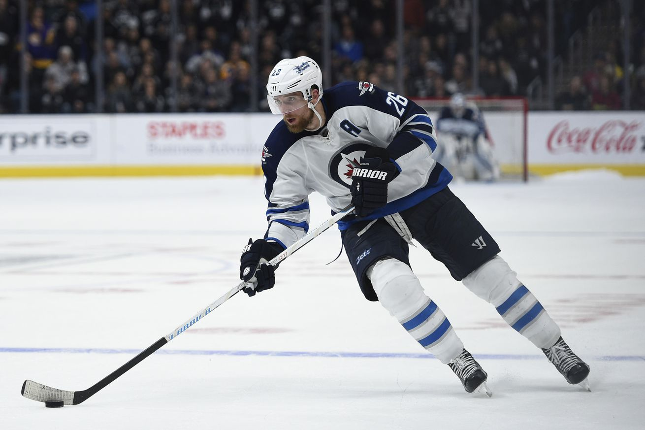 Winnipeg Jets name forward Blake Wheeler captain