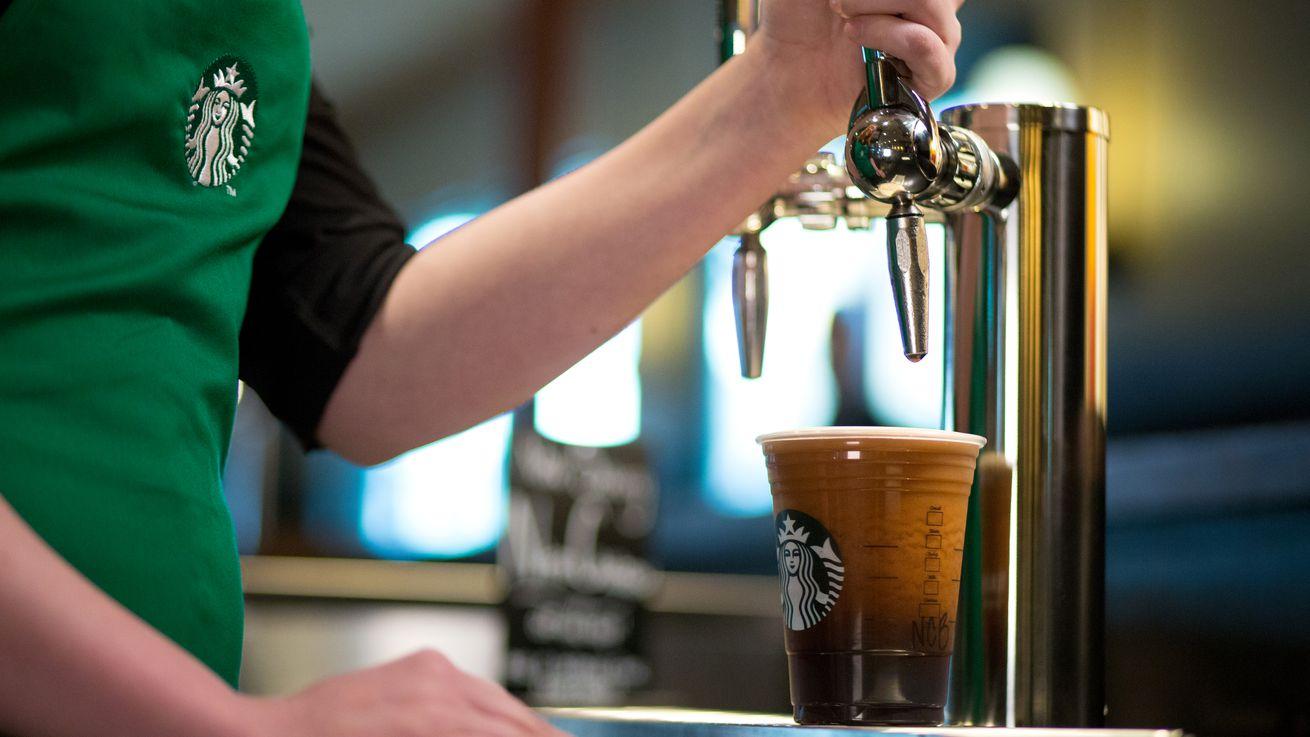 Starbucks now serving