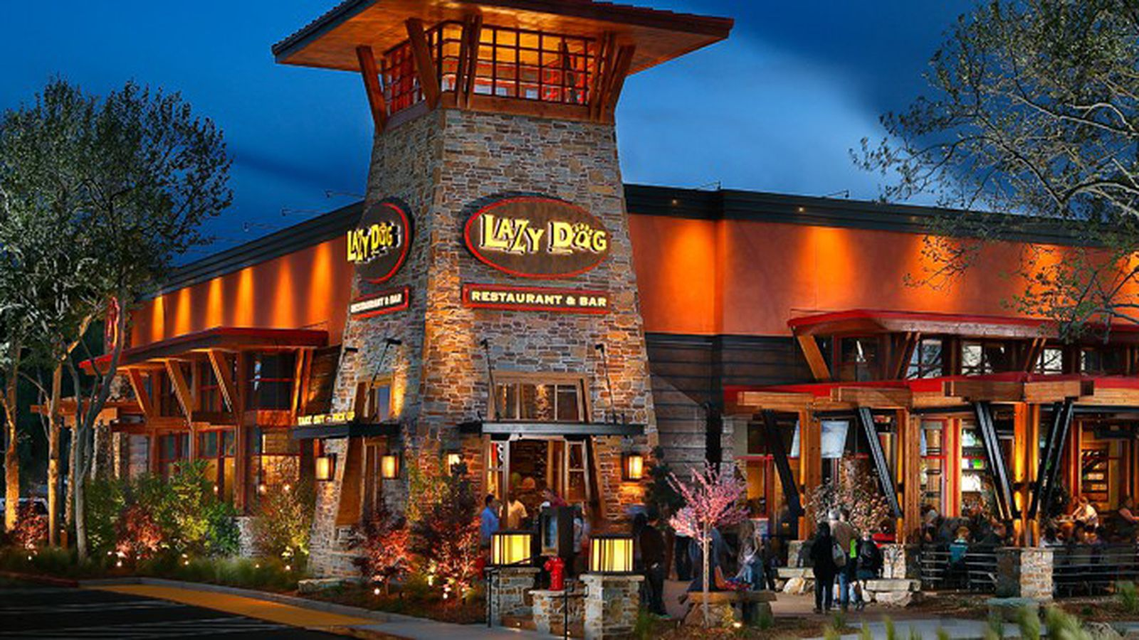 Updating The Lazy Dog Restaurant Amp Bar Coming To Town