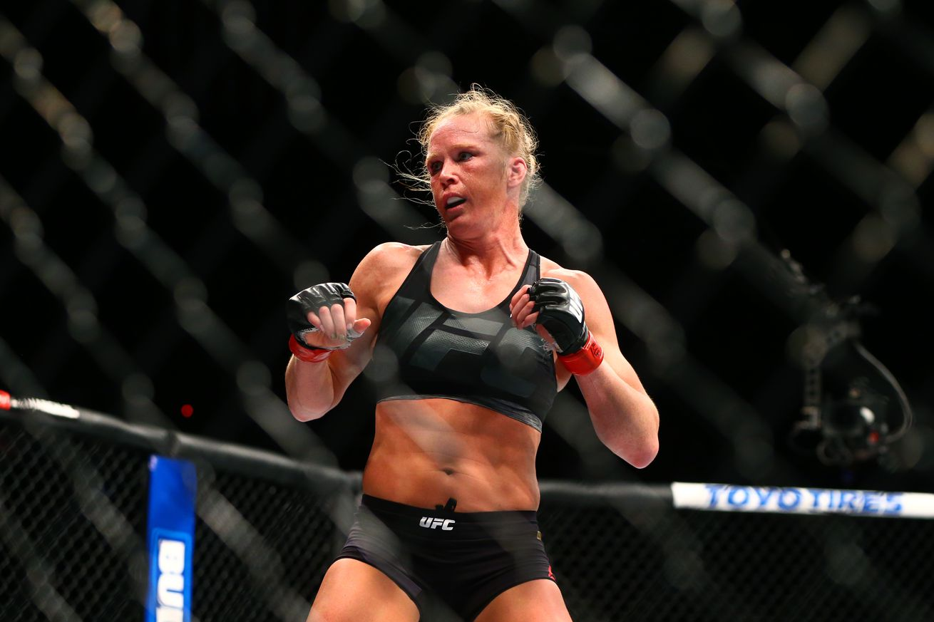 community news, Holly Holm vs Germaine de Randamie full fight video preview for UFC 208 PPV main event