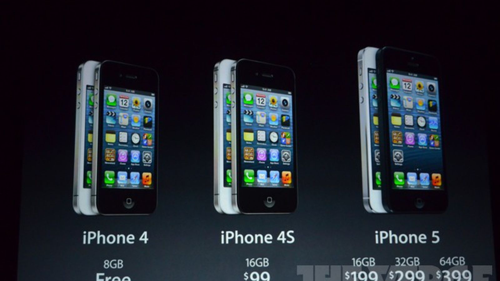 iphone 4s drops to 99 iphone 4 now free apple discontinues the 3gs the verge. Black Bedroom Furniture Sets. Home Design Ideas