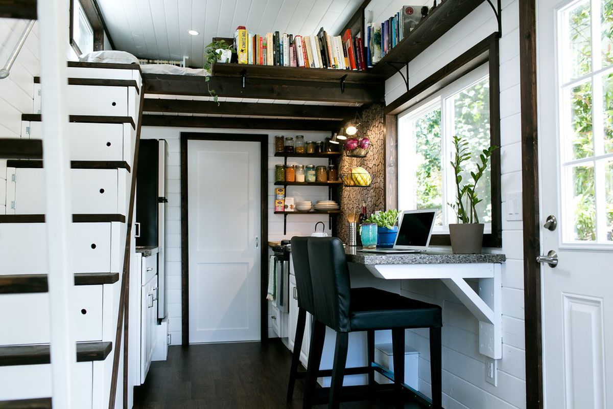 Tiny Home Designs: A Bellingham Tiny House Builder Combines Style And Storage