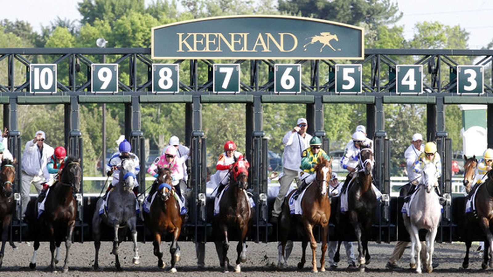 2012 Keeneland Fall Meet And Down The Stretch They Come