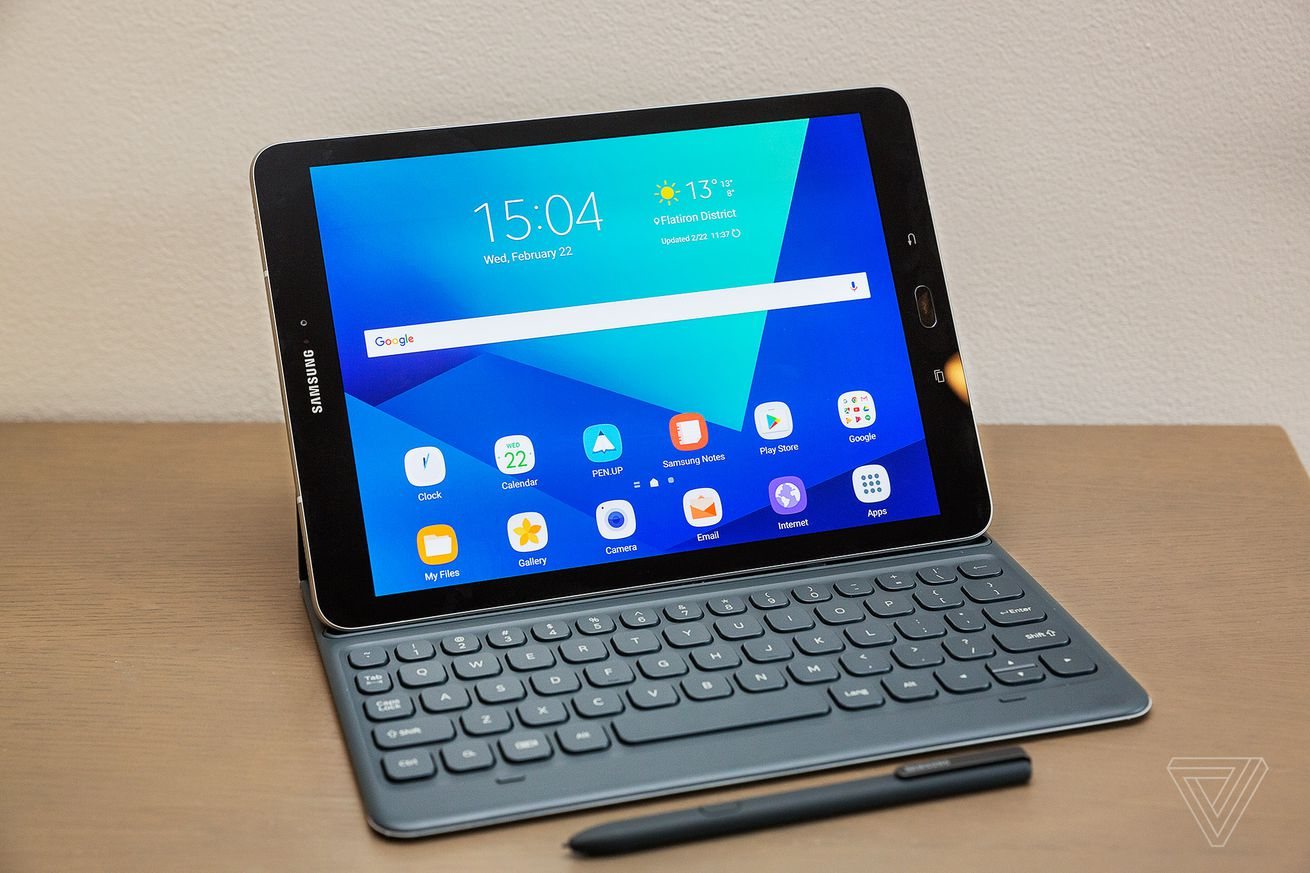Samsung's new Galaxy Tab S3 comes with four speakers and a ...