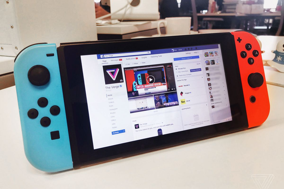 Nintendo Switch S Secret Browser Has A Flaw That Could