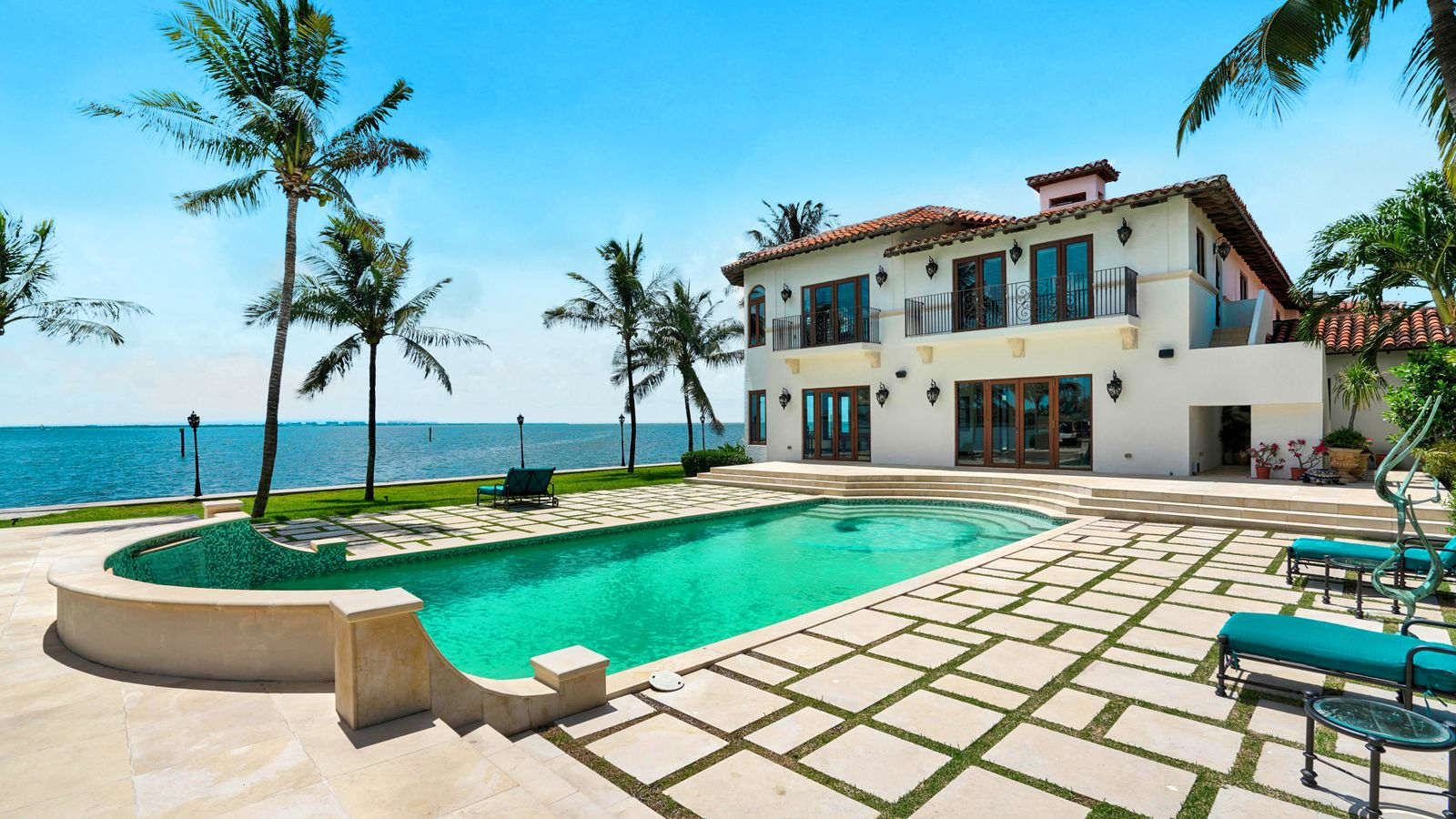 One of miami s largest homes sells for 12m curbed miami for Biggest house in miami