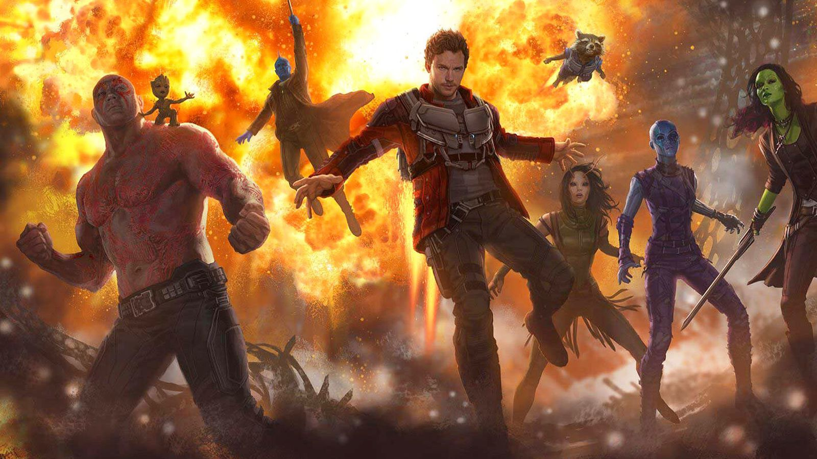 Guardians of the Galaxy Vol. 2 has five post-credit scenes