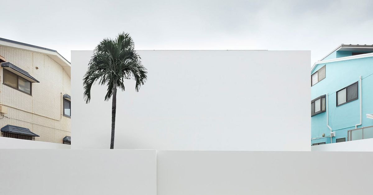 Blank Faced Japanese House Takes Minimalism To The Extreme Curbed