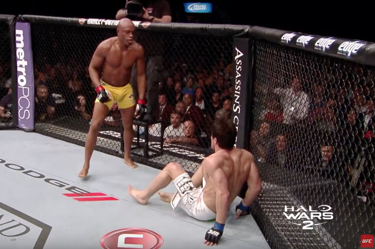 Anderson Silva vs. Chael Sonnen 2 full fight video