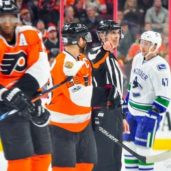 Giroux questioning another call