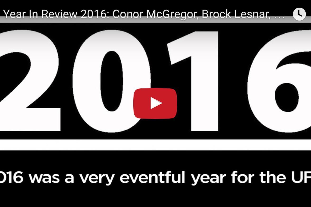 community news, UFC year in review 2016: Conor McGregor, Brock Lesnar, Ronda Rousey, and More!