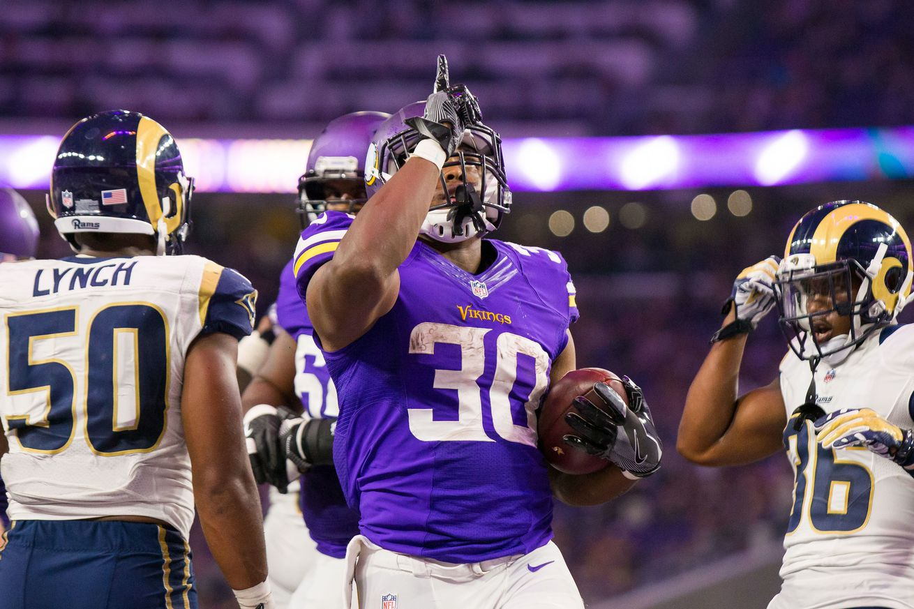 NFL Jerseys Official - Minnesota Vikings Waive RB C.J. Ham - Daily Norseman