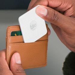 "Tile <a href=""https://www.thetileapp.com/en-us/store/tiles/slim"">Slim Bluetooth Tracker</a>, from $25"