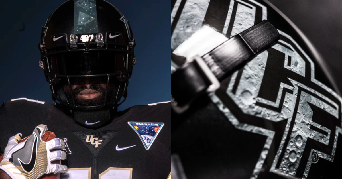 East Carolina Vs UCF Knights To Wear Space Themed