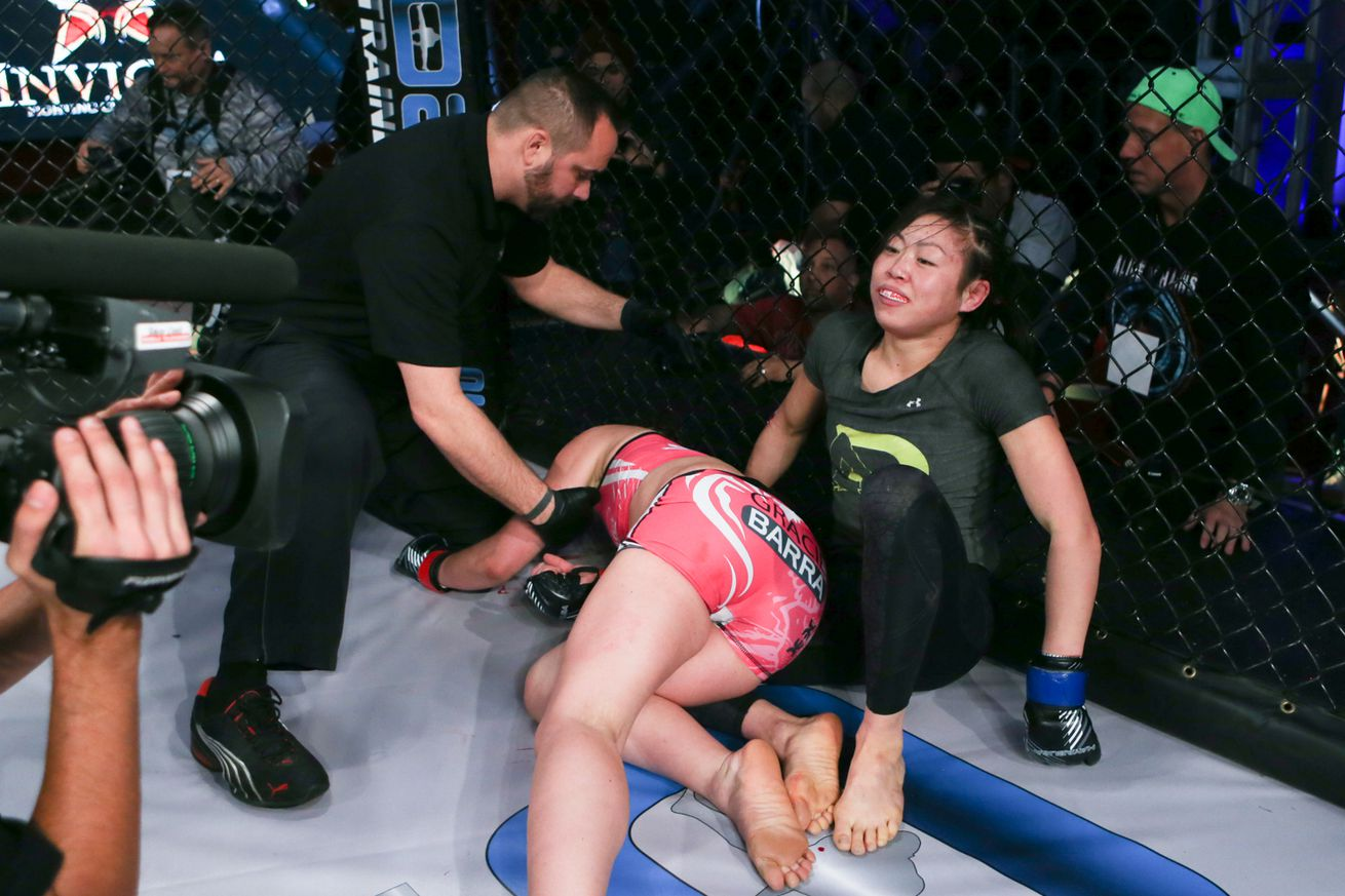 Invicta's Celine Haga challenging Missouri commission ruling in court