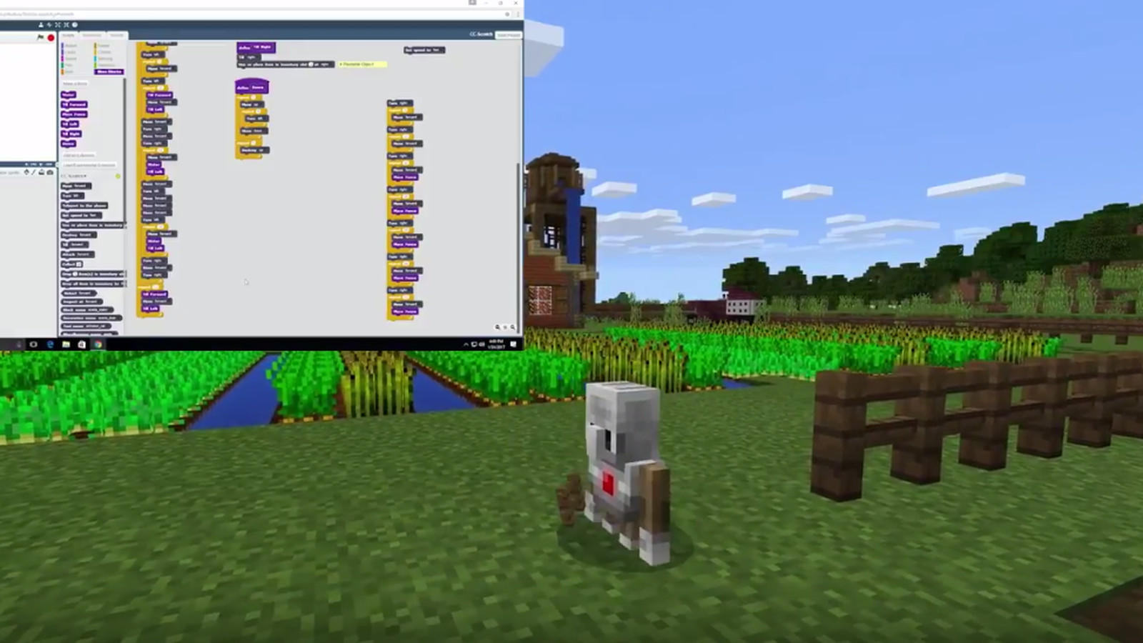 Minecraft Education Edition Is Getting A Code Builder