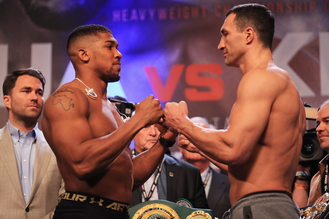 Anthony Joshua vs Wladimir Klitschko prediction, full fight preview