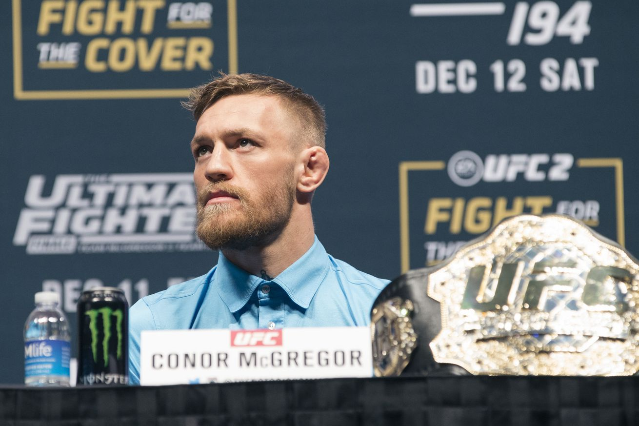 Conor McGregor opens up on 'publicized civil war' with UFC over UFC 200