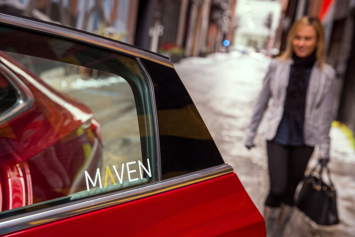 GM launches Maven Gig service for freelance drivers