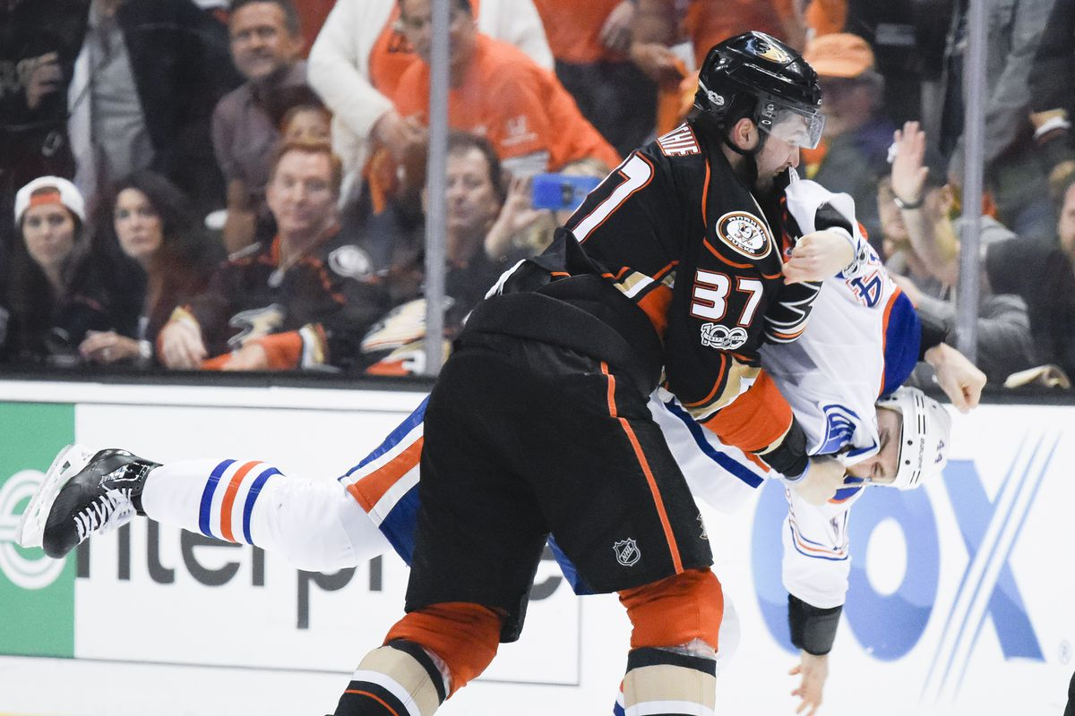 Oilers upset over non-call on Ducks' tying goal