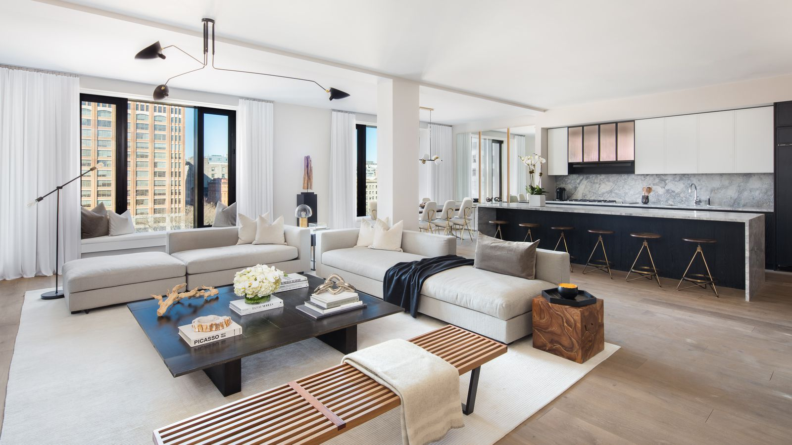 Tribeca 39 s pricey office to condo conversion 11 beach for New york condo interior design
