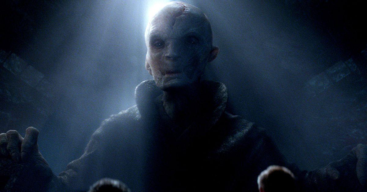 Star Wars The Last Jedi S Bb 9e Toy Reveals Snoke S Mega