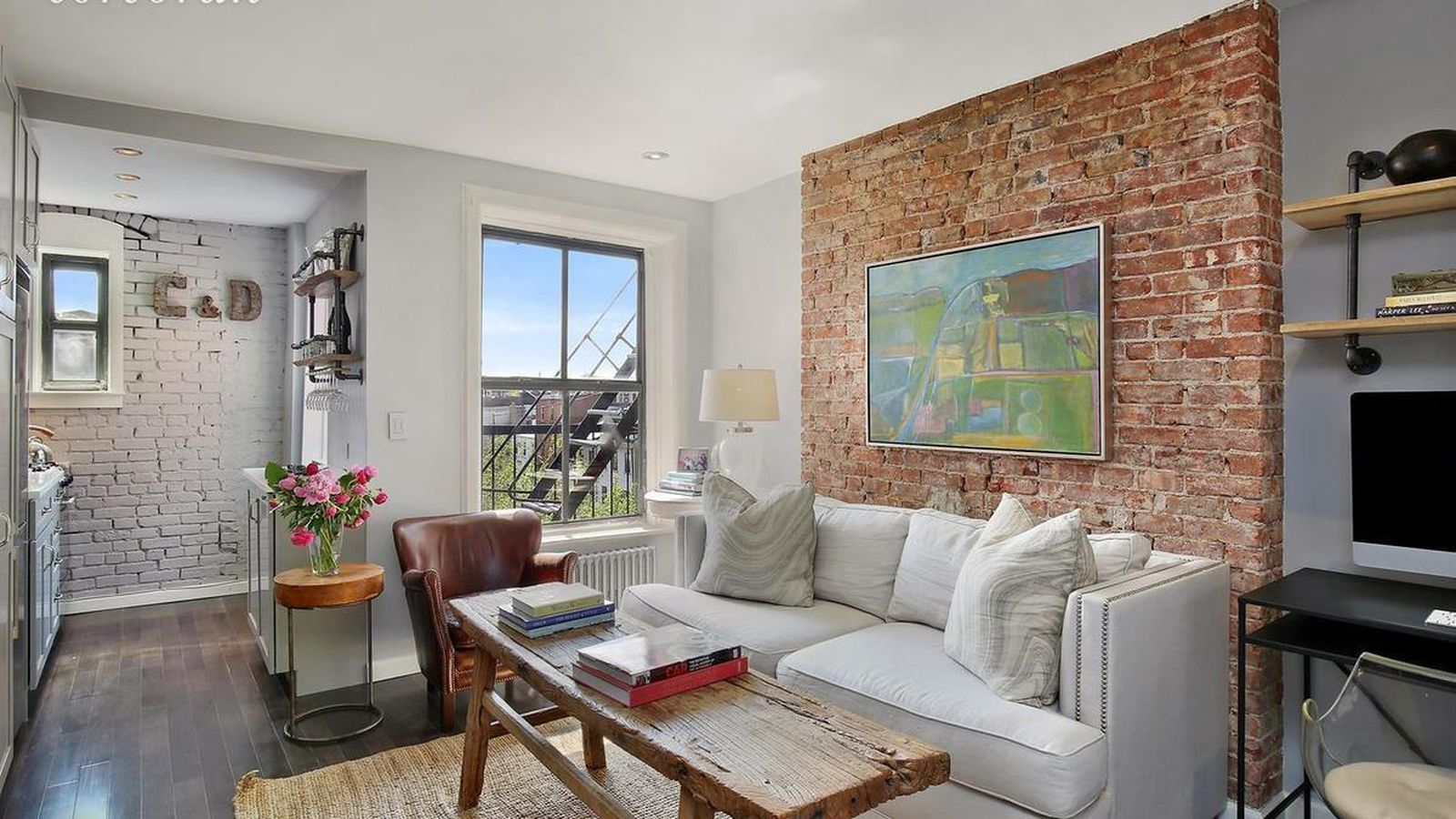 Rustic Chic Cobble Hill Condo With East River Views Wants 500k Curbed Ny