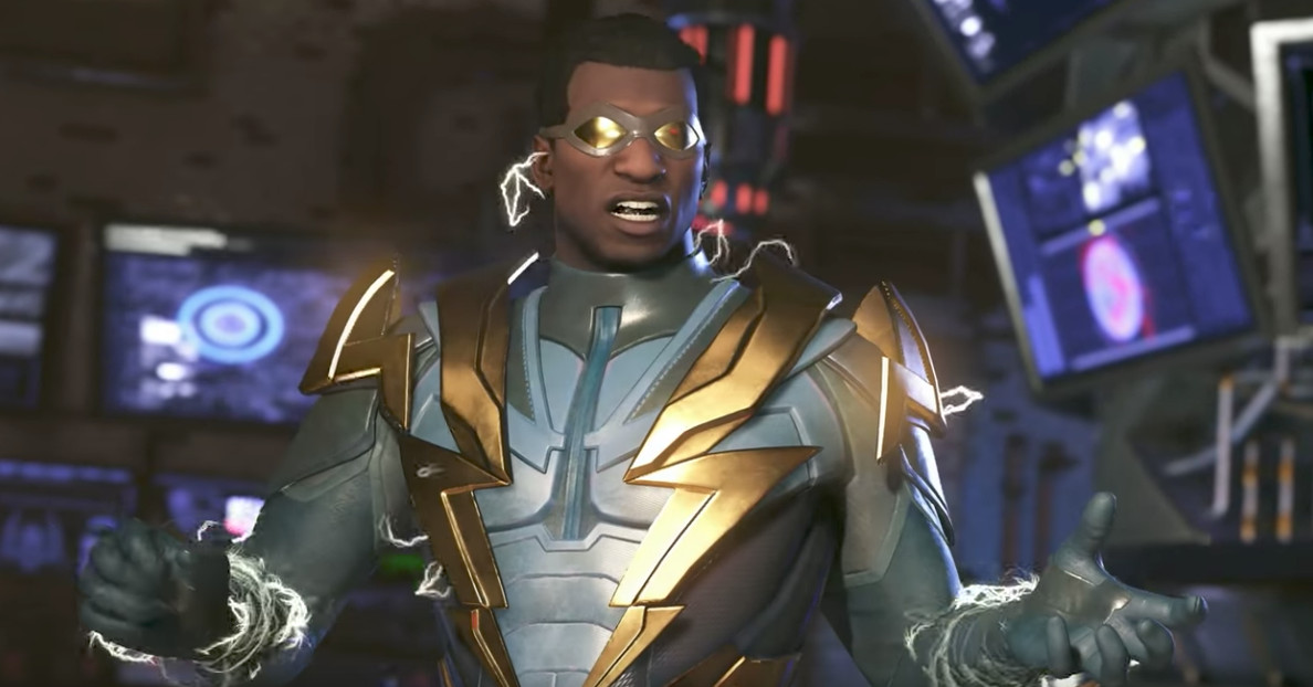 Get a look at Raiden — and Black Lightning — in Injustice 2