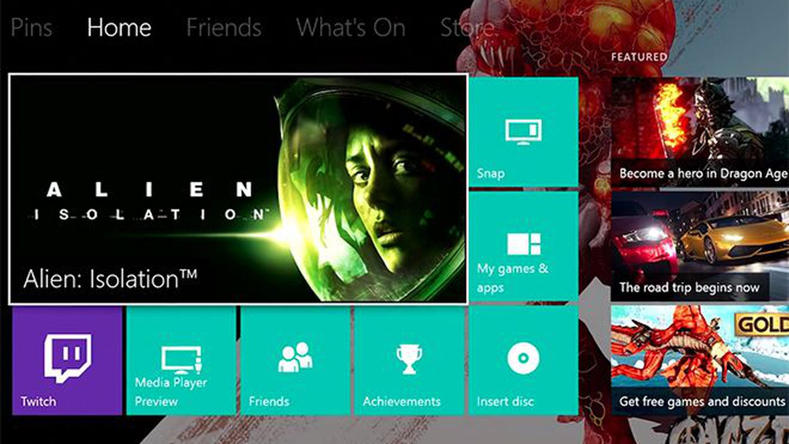 Major Xbox One Update With Custom Backgrounds And Twitter