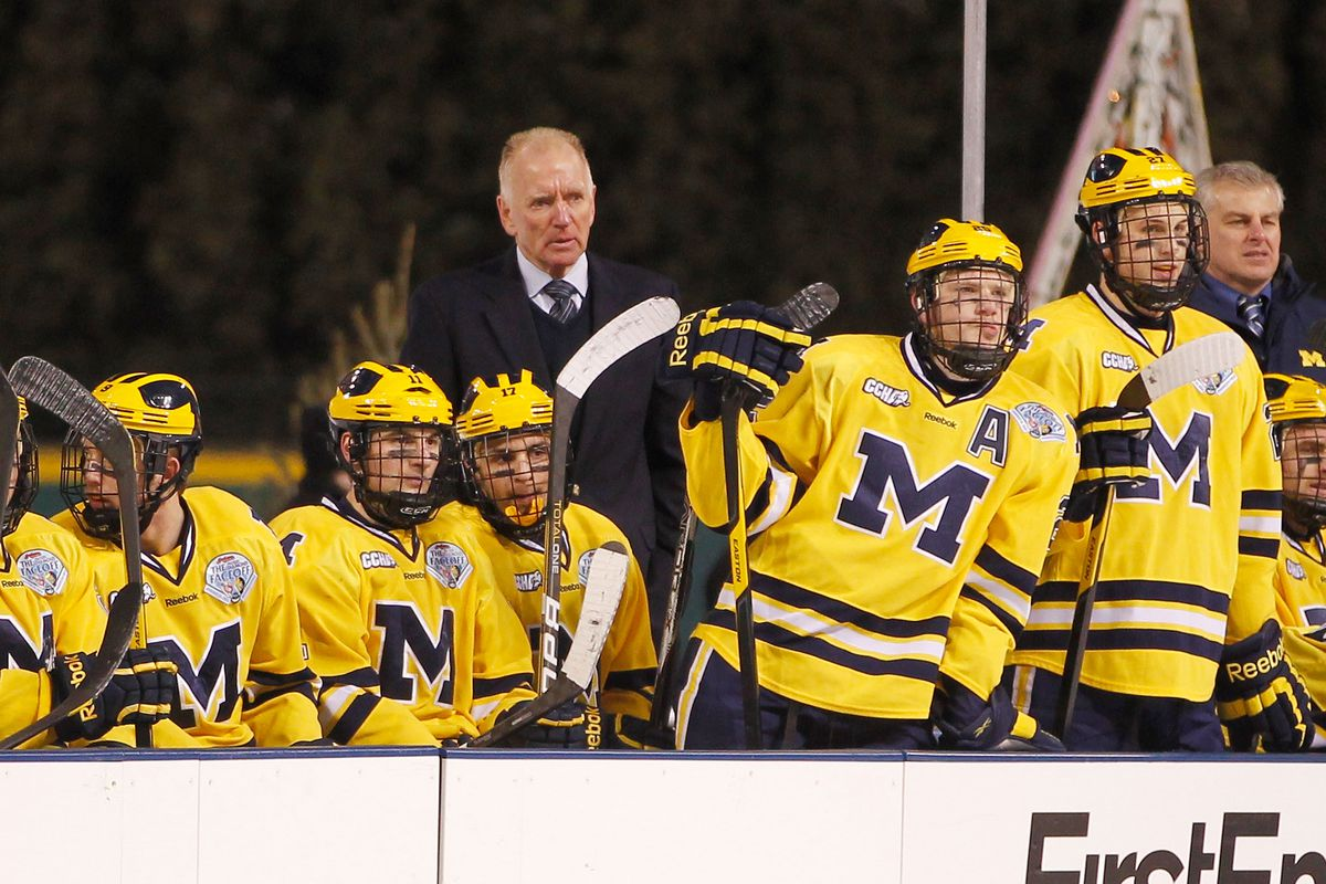 MI hockey coach Red Berenson retires after 33 seasons