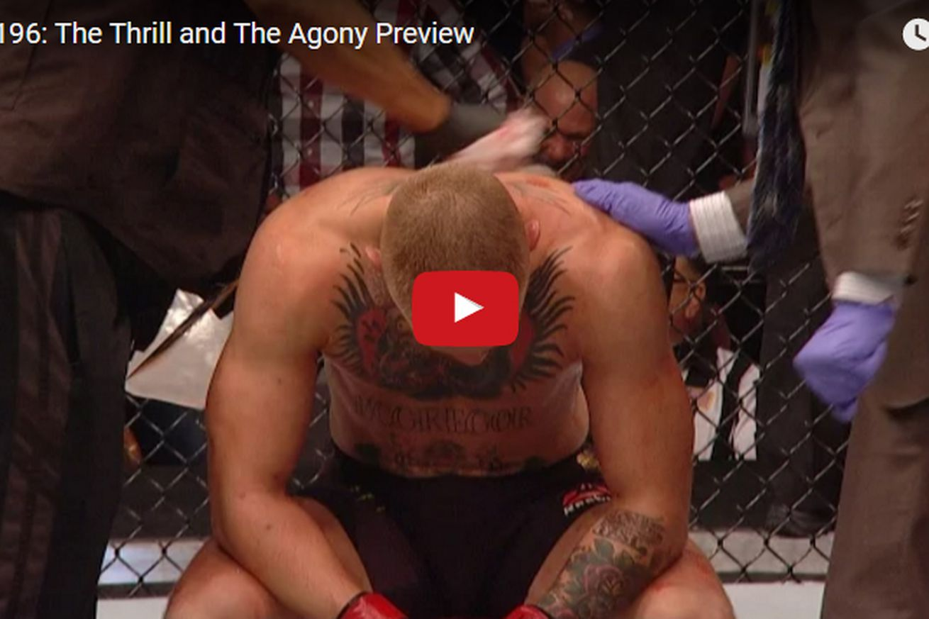 community news, UFC 196: Thrill and Agony video preview takes you behind the scenes of McGregor vs Diaz
