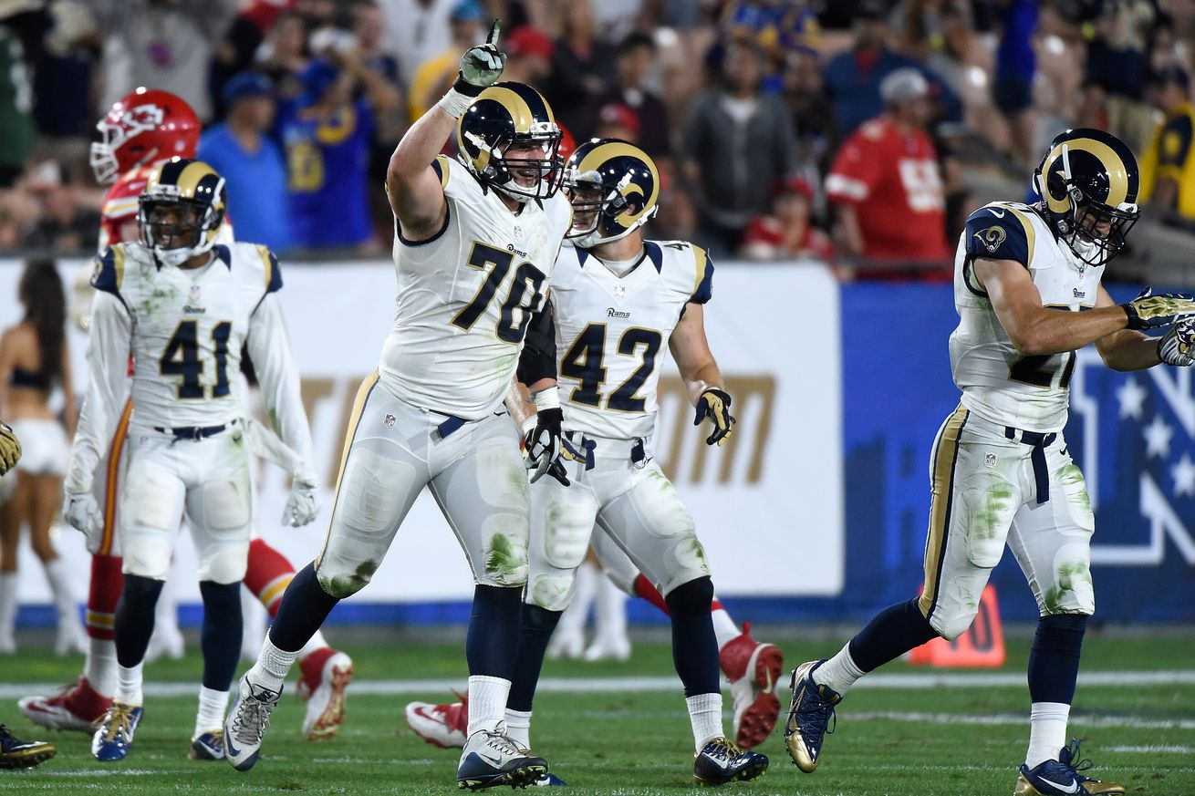 Nike jerseys for Cheap - LA Rams Playing Time Against Kansas City Chiefs Shows Who Has Leg ...