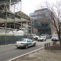 General view of the work on Waveland
