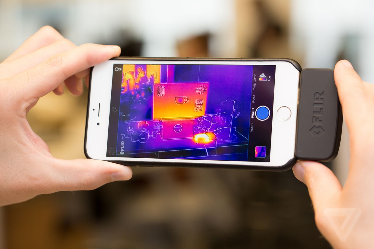 Your Phone Can See In The Dark And Measure Heat With This