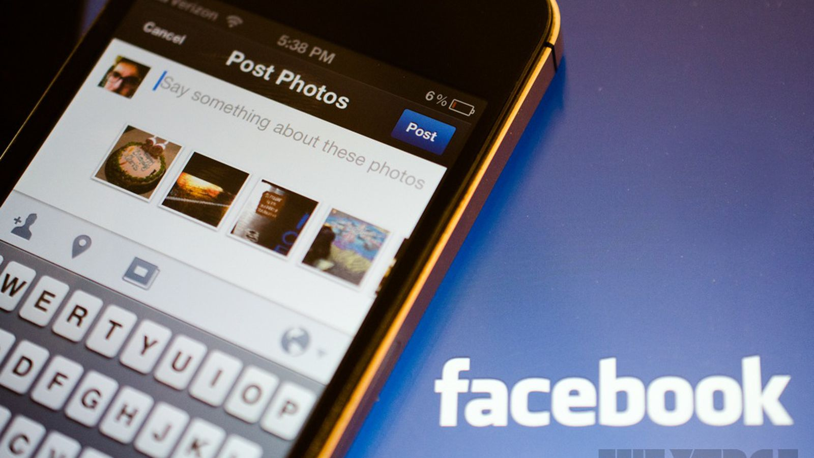 how to create an album on facebook app