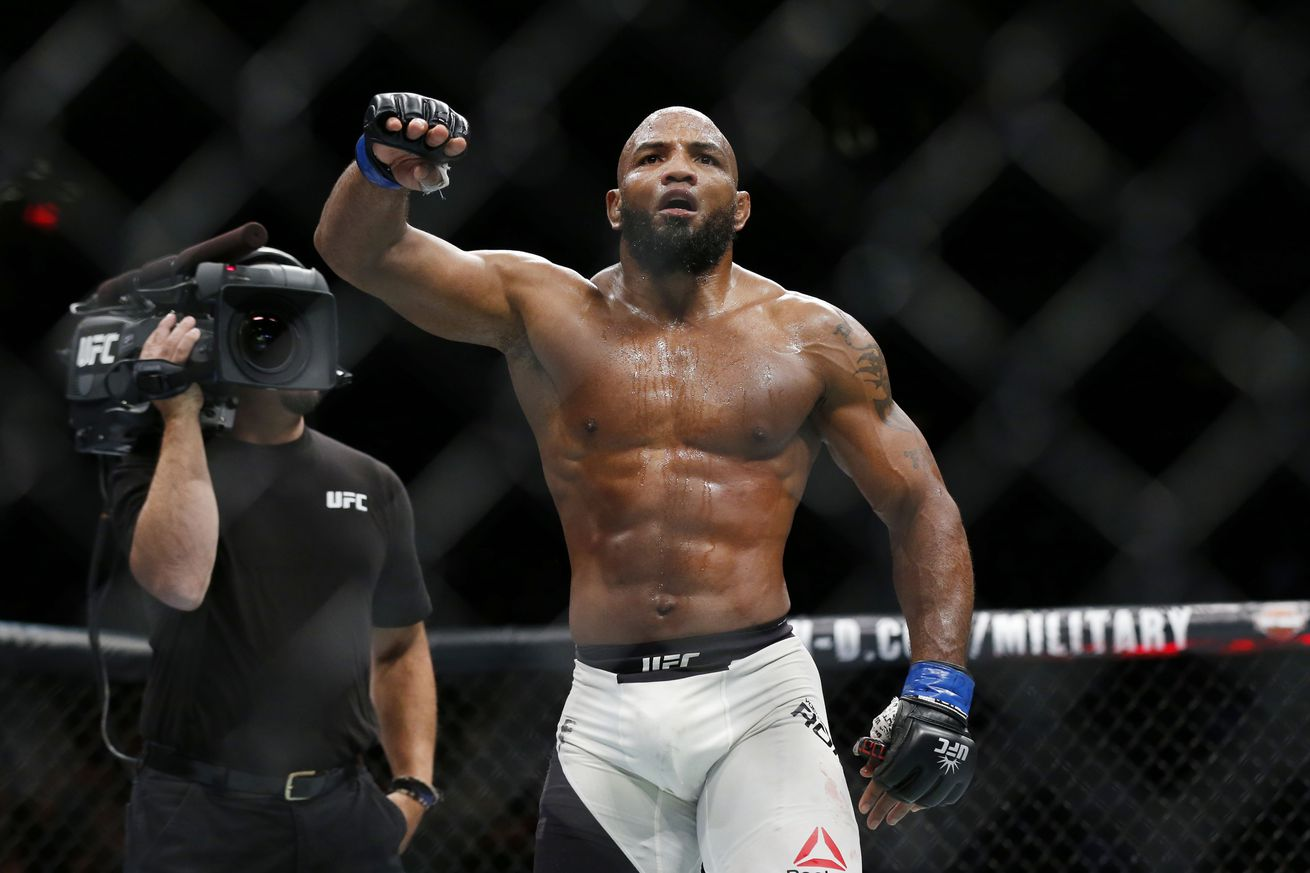 Yoel Romero calls bullsh*t on heartless Michael Bisping's ultimatum for Georges St Pierre title fight