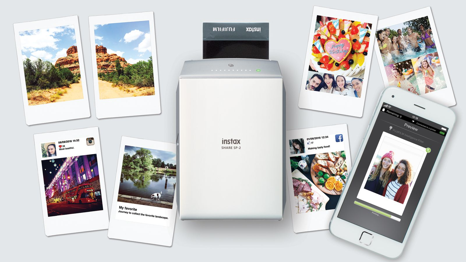 Fujifilm Announces A Newer Faster Instant Printer For