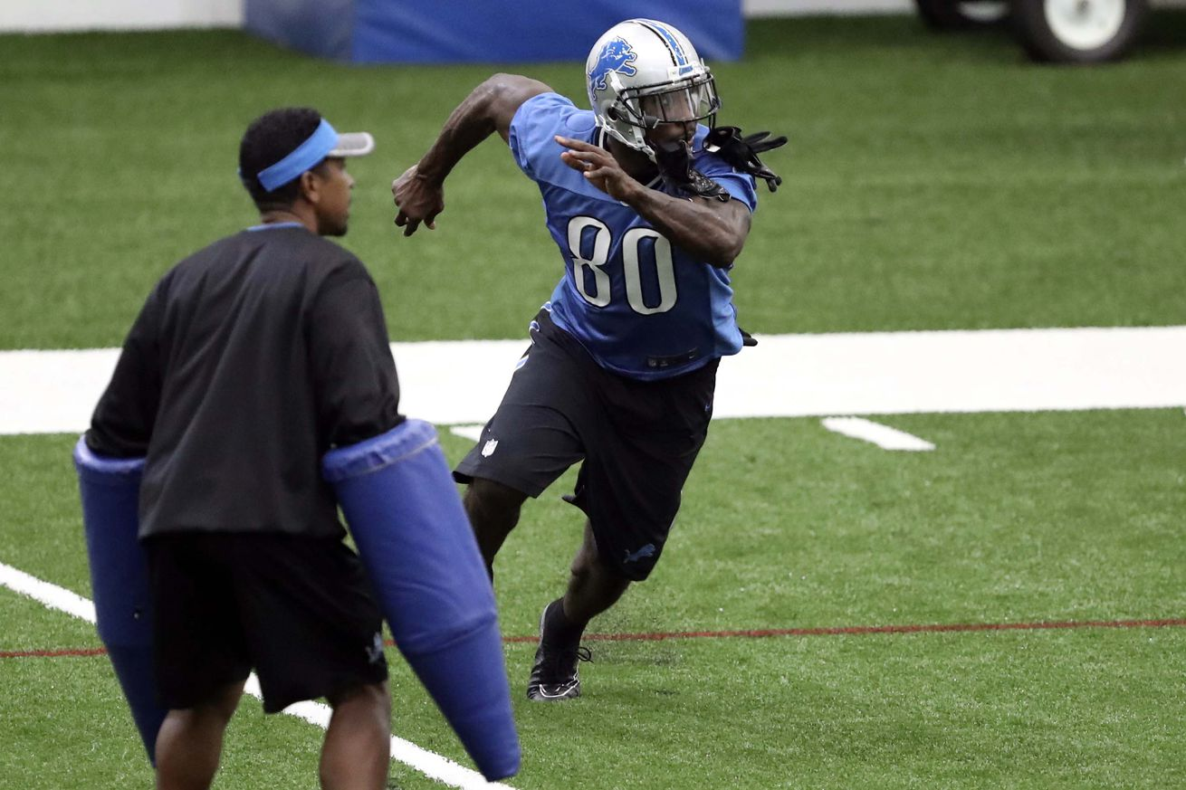 NFL Jerseys NFL - Detroit Lions camp observations: Wide receivers shine and the ...
