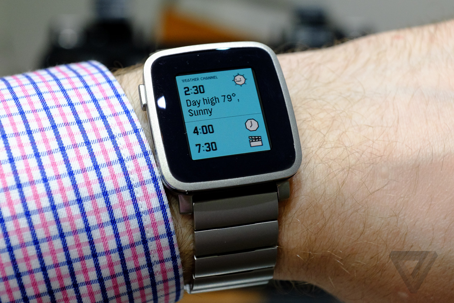 Pebble Time Steel is a dressed-up version of Pebble's ...